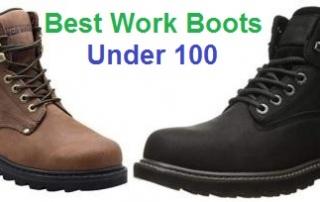 Top 15 Best Work Boots Under 100 in 2019