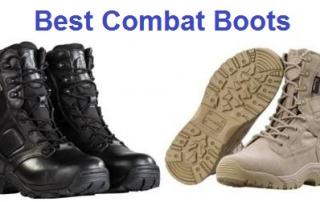 Top 20 Best Combat Boots in 2019