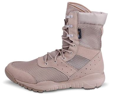WWOODTOMLINSON Men's LD Lightweight Combat Boots MicrofiberSuede Leather Military Tactical Boots