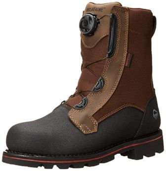 Wolverine Drillbit Oil Rigger Boa Steel-Toe Boot