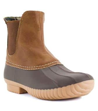 Avanti Rocky Womens Slip On Duck boot – Waterproof Rain boot