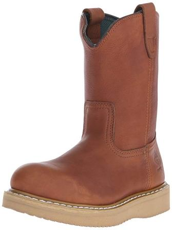 Georgia Boot Men's Wedge Wellington Work Shoe