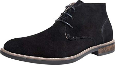 JOUSEN Men's Chukka Boot Suede Leather Ankle Desert Boots