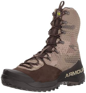 Under Armour Men's Infil Ops GORE-TEX, Ridge Reaper Camo Ba (900)/Maverick Brown, 10.5 M US