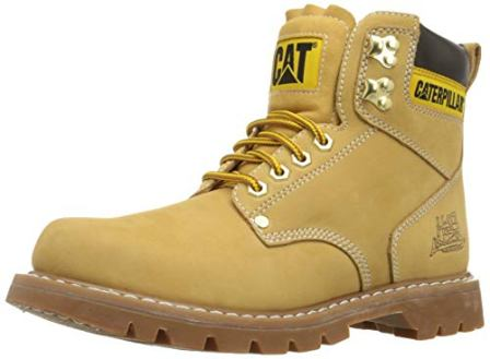 Caterpillar Men's Second Shift 6″ Plain Soft Toe Work Boot