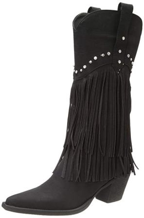 Roper Women's Fringe and Stud Western Boots