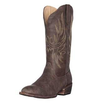 Silver Canyon Cimmaron Round Toe Boots