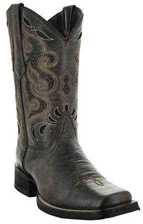 Soto Boots Men's Broad Square Toe Boots H50019