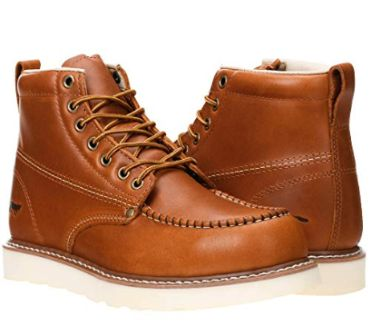 Top 15 Best Leather Work Boots in 2019