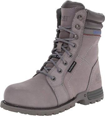 Caterpillar Women's Echo Waterproof Steel Toe Work Boots