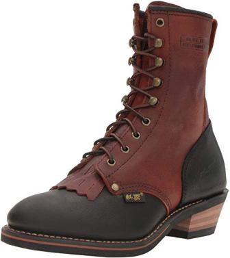AdTec 1179 9″ Packer Chestnut/Black Work Boot