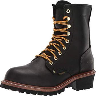 AdTec 9″ Super Logger Steel Toe Boots for Men
