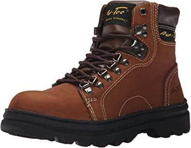 AdTec Men's 6 Inch Boot Work Hiker