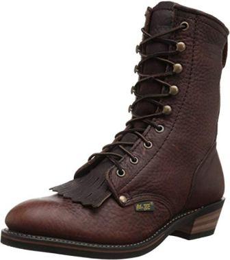 AdTec Men's Premium Leather Cowboy Boot Packer