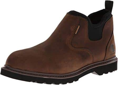 CARHARTT 4-INCH NON-SAFETY TOE SLIP-ON BOOT