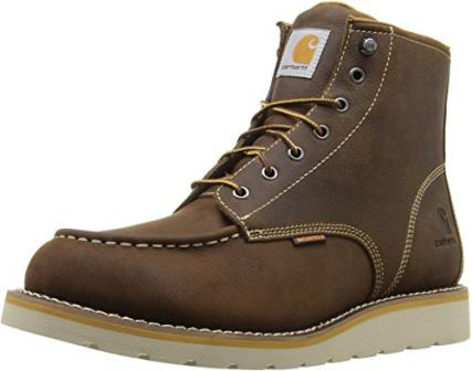 """CARHARTT 6"""" NON-SAFETY TOE WEDGE BOOTS"""