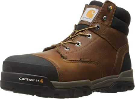 CARHARTT GROUND FORCE 6-INCH WATERPROOF COMPOSITE TOE INDUSTRIAL BOOTS