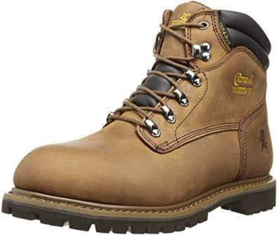 CHIPPEWA 6-INCH WATERPROOF TOUGH BARK UTILITY BOOTS