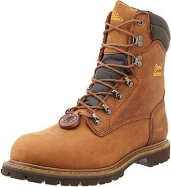 CHIPPEWA 8-INCH WATERPROOF INSULATED BOOTS FOR MEN