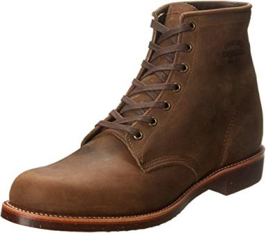 CHIPPEWA SIX-INCH UTILITY BOOTS FOR MEN
