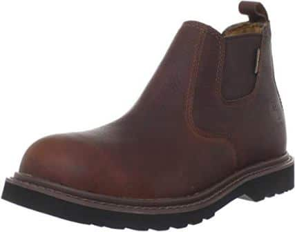 """Carhartt Men's 4"""" Romeo Waterproof Non-Safety Toe Pull-On Boot CMS4100n"""