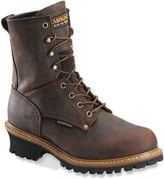 Carolina Boots: Men's Waterproof Logger Boots CA8821
