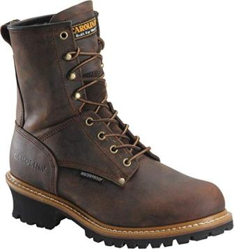 Carolina Men's Toe Logger Boot
