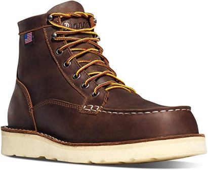 Danner Men's Bull Run Moc Toe 6″ ST Work Boot