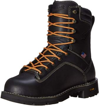 Danner Quarry USA Men's Black Work Boot