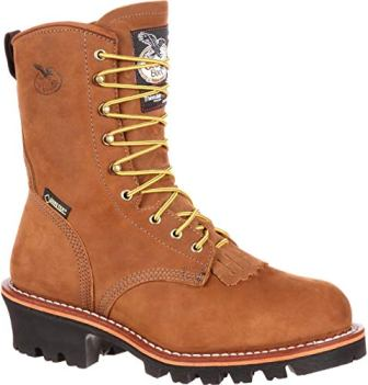 Georgia Boot Men's G9382 Logger Work Shoe