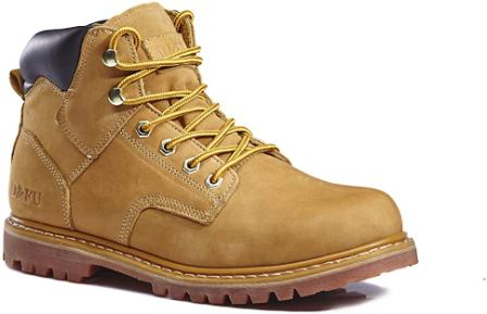 Kingshow Premium Full-Grain Leather Work Boots