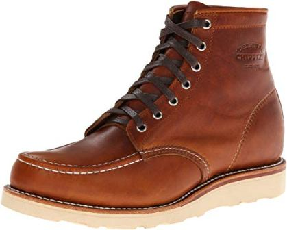 ORIGINAL CHIPPEWA SIX-INCH MOC-TOE BOOTS FOR MEN