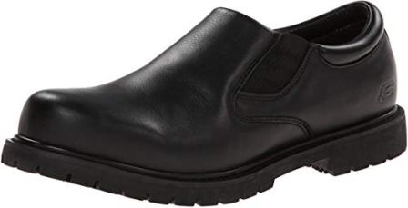 Skechers for Work Men's Cottonwood Goddard Twin Gore Slip On