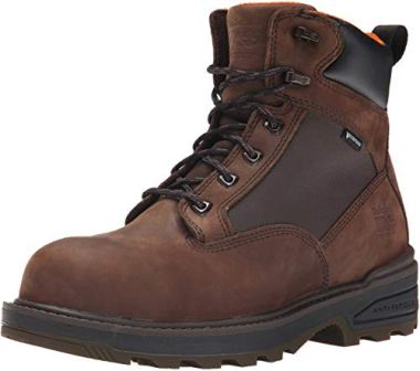 Timberland PRO Men's 6″ Resistor Composite-Toe Work Boot