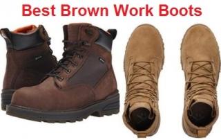Top 15 Best Brown Work Boots in 2019