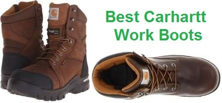 Top 15 Best Carhartt Work Boots in 2019