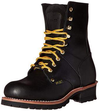 AdTec 9-Inch Steel Toe Super Logger Boots