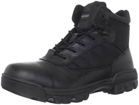 Bates Men's 5-Inch Enforcer Ballistic Nylon and Leather Uniform Boots