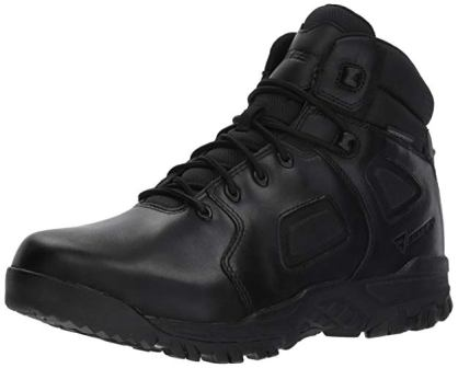 Bates Men's 8-inch Siege ZR-6 Black 6-Inch Leather Uniform Boot