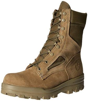 Bates Men's USMC Hot Weather Tactical And Military Boots With DuraShocks