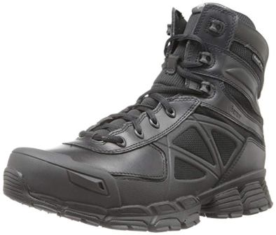 Bates Men's Velocitor Black Waterproof Side Zip Boots
