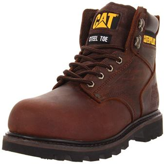 Caterpillar Second Shift Steel Toe Work Boots