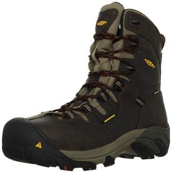 KEEN Utility Detroit 8-Inch Steel Toe Work Boots
