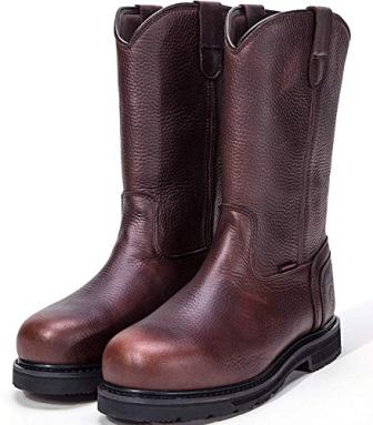 ROCKROOSTER AP860 TEHAMA Pull On Boots with Steel Toecap