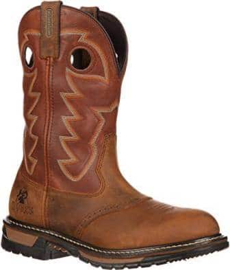 Rocky Men's Original Ride Saffron Work Boot