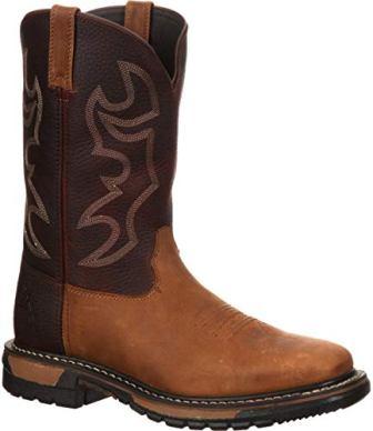 Rocky Men's Original Ride Western Work Boot