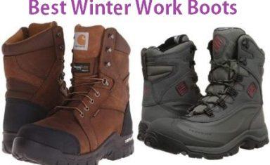 Top 15 Best Winter Work Boots in 2019