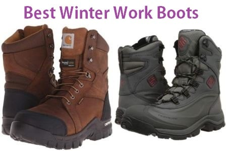 Top 15 Best Winter Work Boots in 2019