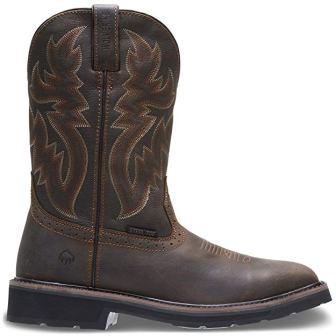 Wolverine Rancher 10-Inch Steel Toe Work Boots