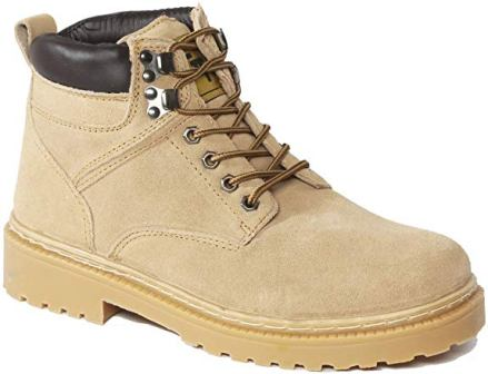 51C16 – Green Trail¨ Suede Work Boot – Tan